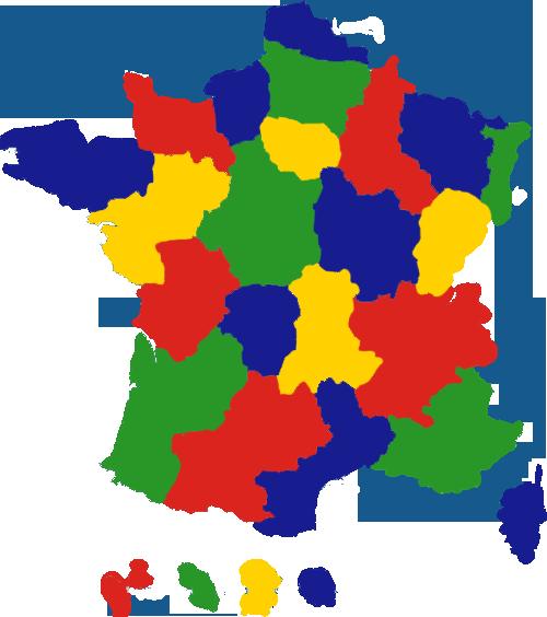 Régions SNU TEFE