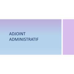 Adjoint Administratif