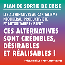 Plus Jamais ça : 34 mesures pour un plan de sortie de crise