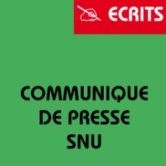 Communiqué de presse SNU FSU