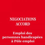 Accord pour l'emploi des personnes handicapées à Pôle emploi : la négociation est ouverte