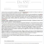 La Gazette – Juillet/Aout 2020