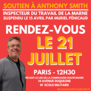 SOUTIEN INTERSYNDICAL A ANTHONY SMITH !