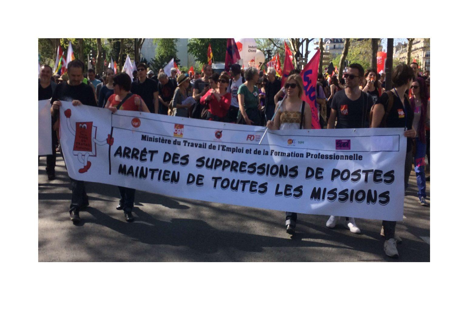 Tous en grève le 5 Octobre contre les suppressions de postes et l'OTE au Ministère du Travail !