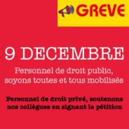 9 décembre : J – 5