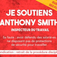 Retrait de la procédure disciplinaire contre Anthony Smith